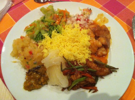 Calou Guest House Hotel : Dinner
