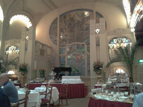 Belmond Grand Hotel Europe: Breakfast room