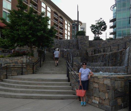 Falls Park on the Reedy: Reedy Area
