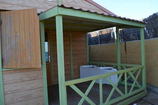 Camping Caballo de Mar: terrasse