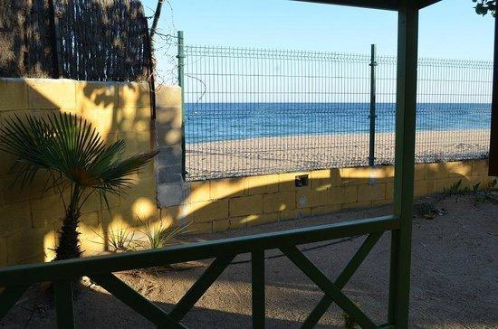 Camping Caballo de Mar: plage