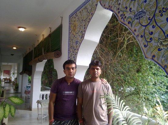 Shahar Palace: Balcony
