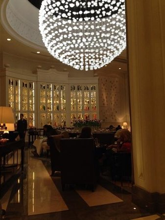 Corinthia Hotel London : Dining safari - pudding!