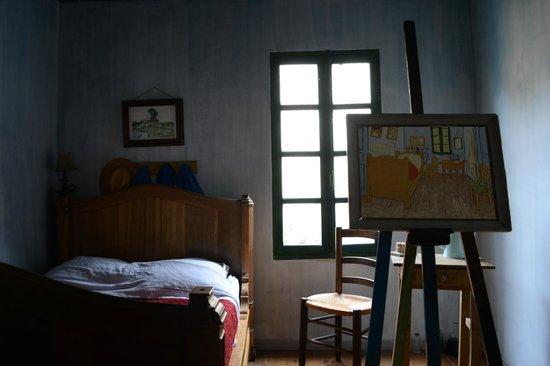 L'Aubergine Rouge: Van Gogh room: