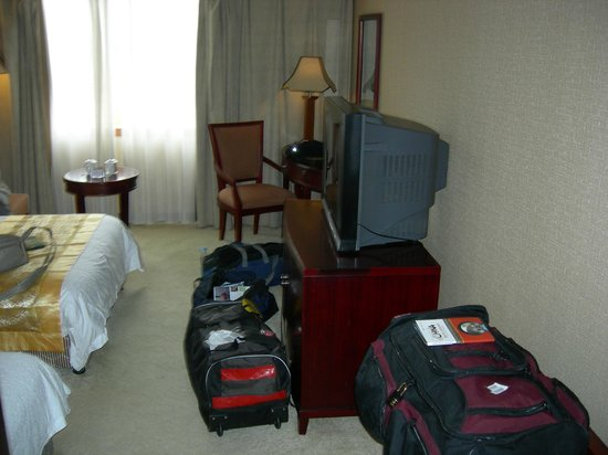 The Tibet Gang-gyan Lhasa Hotel : room for luggage