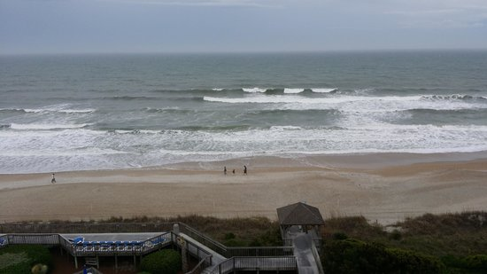 Holiday Inn Resort Wrightsville Beach: View from our room.