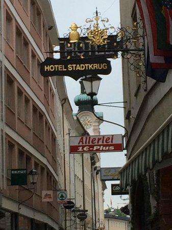 Stadtkrug Hotel: Nel cuore di Salisburgo si sente il battito