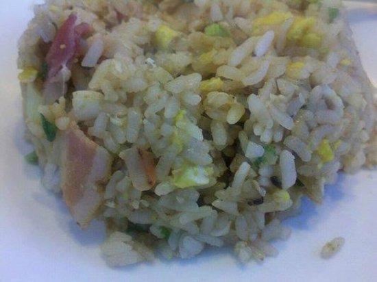 Gardena Bowl Coffee Shop: bacon fried rice