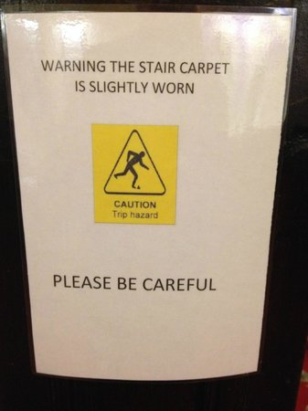 The Hind Hotel : Why not replace the carpets?