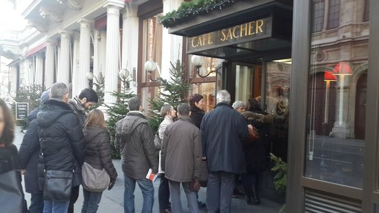 Hotel Sacher Wien: Cafe Sacher