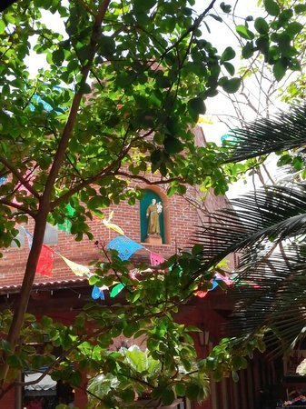 Mexican Market: Mission style buildings add to charm