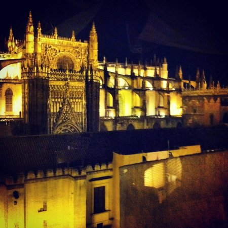 EME Catedral Hotel: VIEW hotel