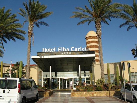 Hotel Elba Carlota: Wejście główne