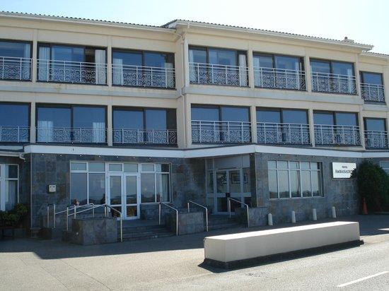Ambassadeur: façade hôtel