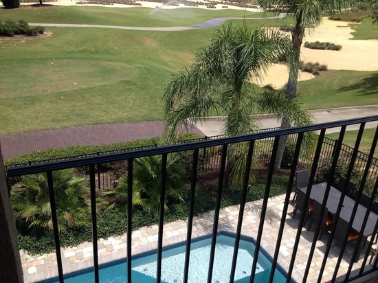 Reunion Resort of Orlando : View from our villa