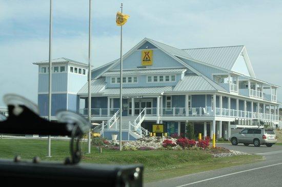 Cape Hatteras KOA: KOA club house