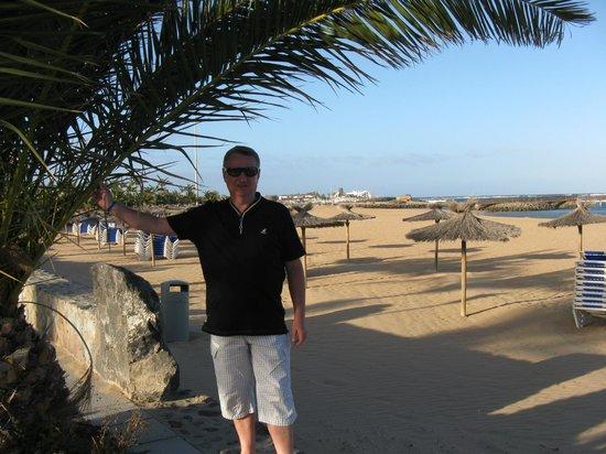 Hotel Elba Carlota: Na plaży