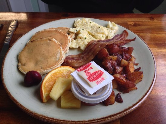 La Baleine Cafe : Breakfast