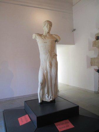 Isola di Mozia (Mothia)/ San Pantaleo : Il giovinetto di Mozia - Museo Whitaker Mozia