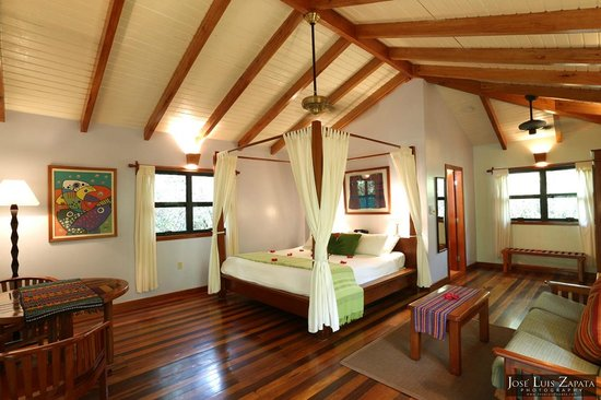 Hamanasi Adventure and Dive Resort: Beautiful tree-house room at Hamanasi Resort