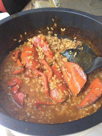 Mariscco: Lobster paella