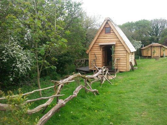 Mill Valley Yurts: Wonderful woodland cabin