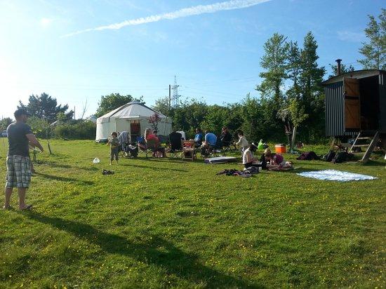 Mill Valley Yurts: Fun in the sun
