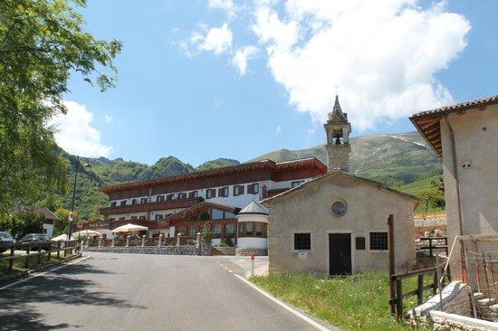 Hotel San Giacomo Gourmet & Spa: vista frontale