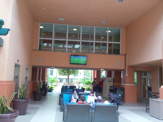 Wyndham Palm-Aire: Lounge area