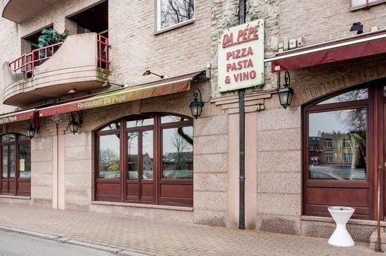 Da Pepe : Terrasse restaurant Da Pépé