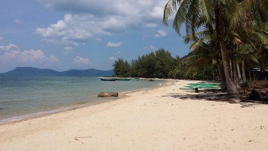 Peppercorn Beach Resort : View of the beach area