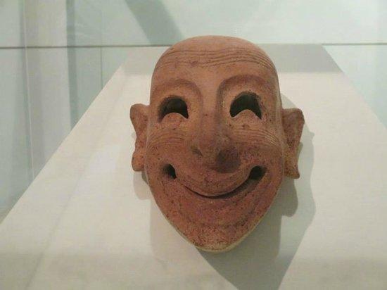 Isola di Mozia (Mothia)/ San Pantaleo : La maschera fenicia - Museo Whitaker Mozia