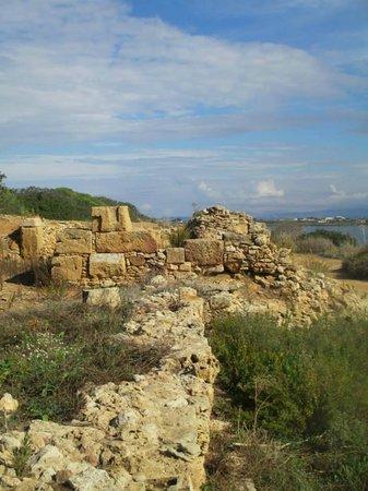 Isola di Mozia (Mothia)/ San Pantaleo : Le mura della città di Mozia