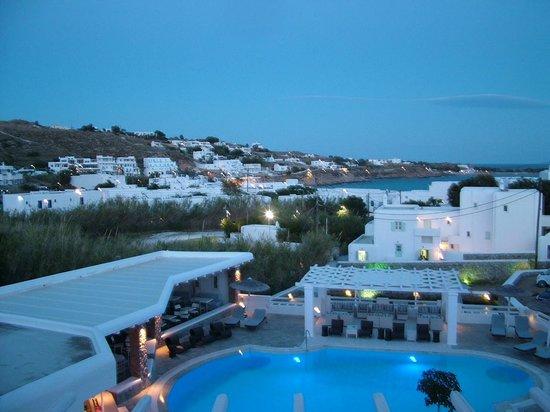 Argo Hotel Mykonos: view from room
