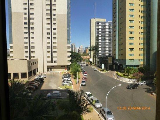 Comfort Suites Brasília: Vista do Apartamento 214.