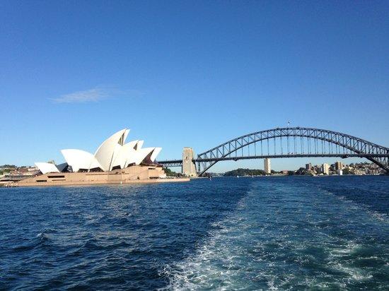 Sydney Ferries: Worlds best view :-)