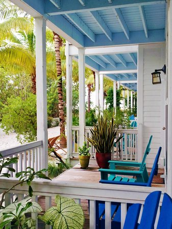 Parrot Key Hotel and Resort: Our porch at Parrot Key Resort
