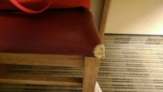 Extended Stay America - Austin - Round Rock - North: Chewed up chair