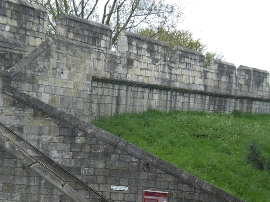 York City Walls: View of the York Walls