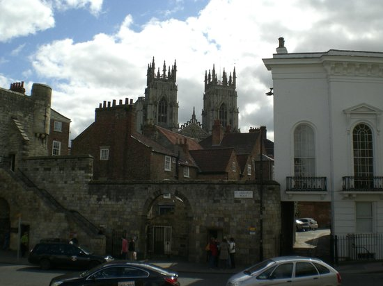 York City Walls: One Access Option to the York Walls