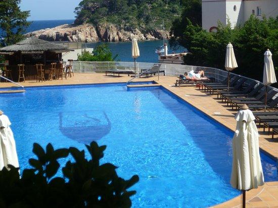 Hotel Aiguablava: piscine avec eau salee