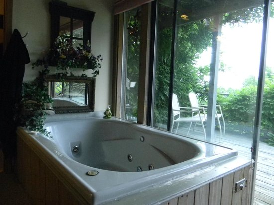 Bonnybrooke Farm: Giant jacuzzi....