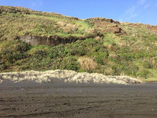 Castaways Resort: Cliffs from the beach