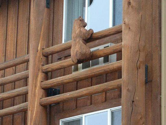 Kelly Inn West Yellowstone: Detalhe da fachada