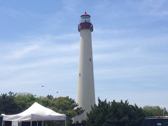 Cape May Lighthouse : The lighthouse