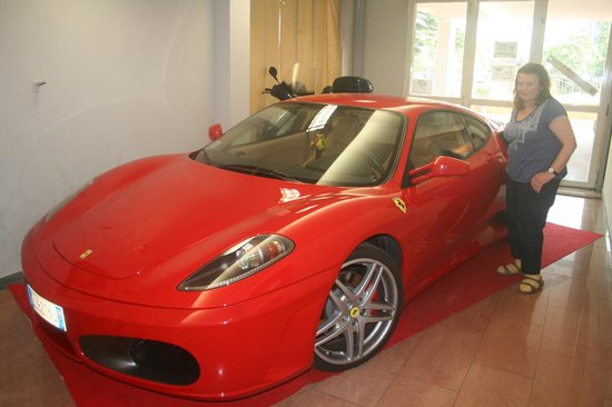 Hotel Savoy Palace - TonelliHotels : The prized Ferrari off the bar area