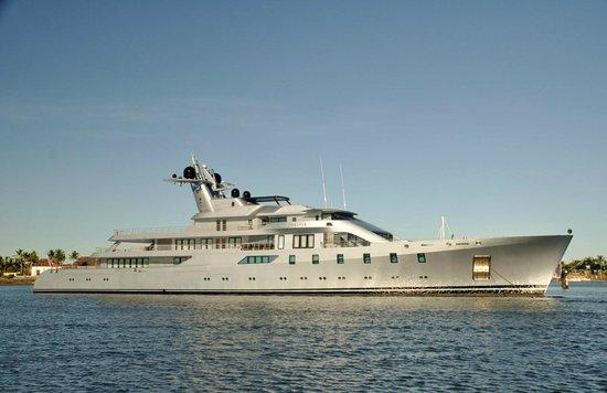 Port Denarau Marina: Visiting Super Yacht Moored at Marina