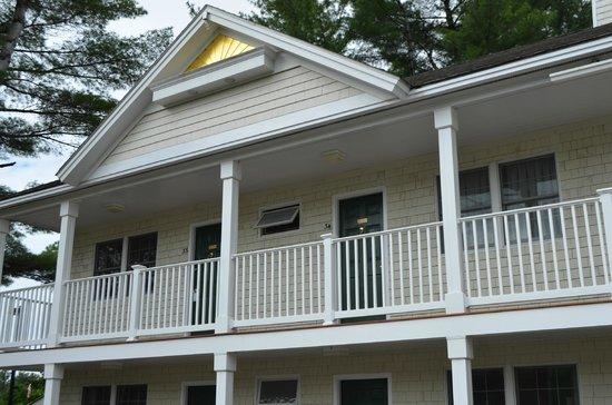 Golden Gables Inn : Room View