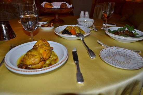 International Restaurant at Amanjena: Restaurante do hotel Amanjena-Marrakech