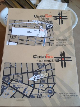 Skara Bar: Indirizzi dei due locali a Sofia